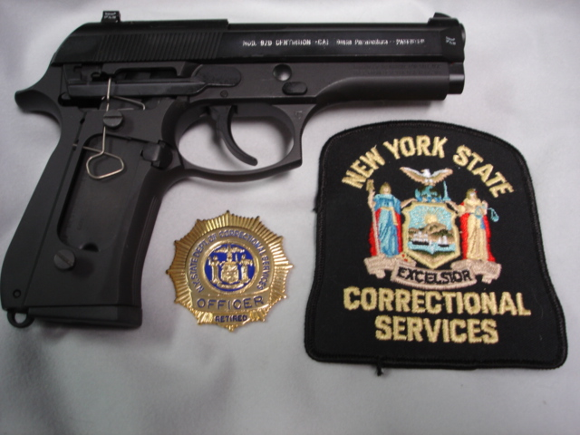 new york state police badge. for both New York State